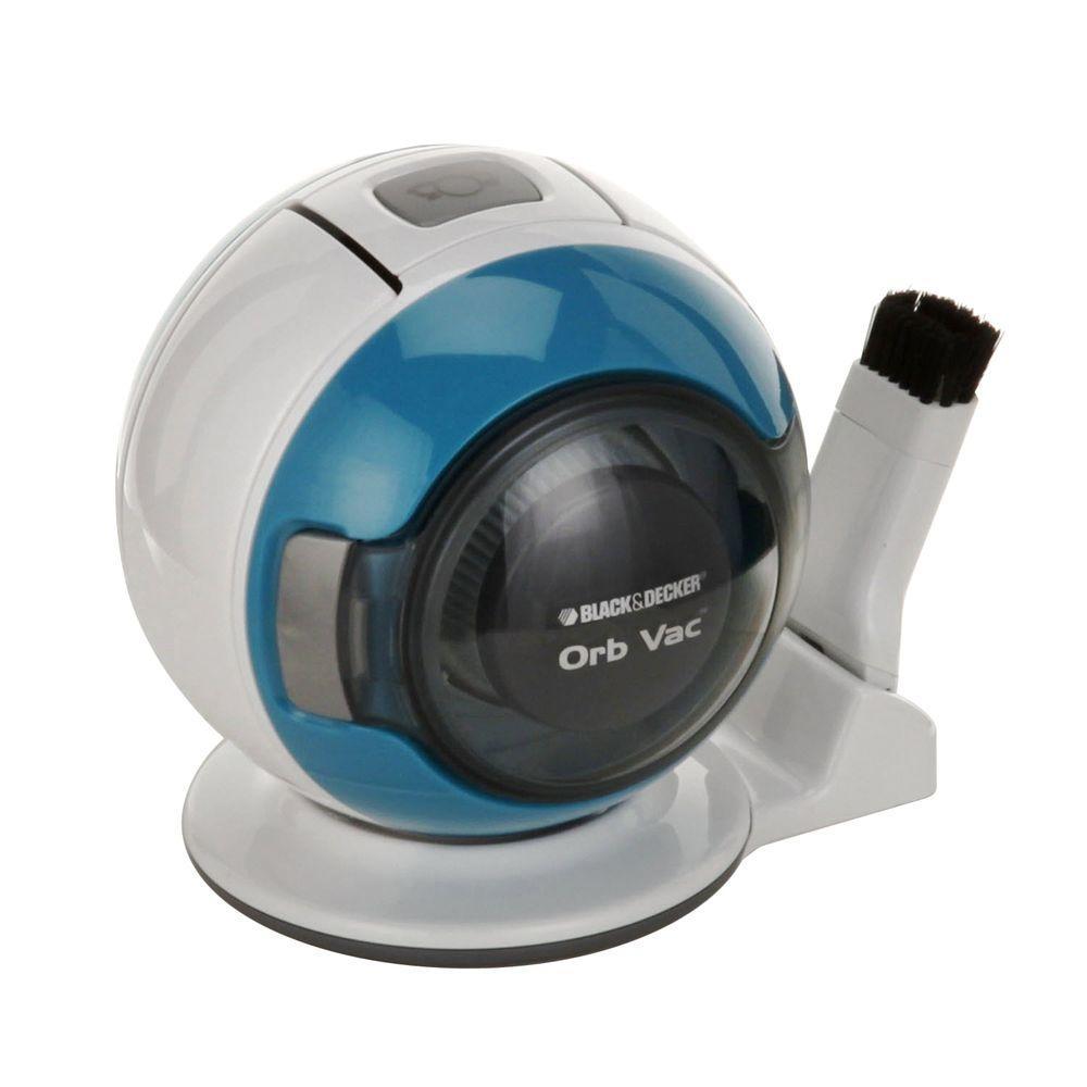 BLACK+DECKER 4.8-Volt Cordless Handheld Orb Vac - Blue