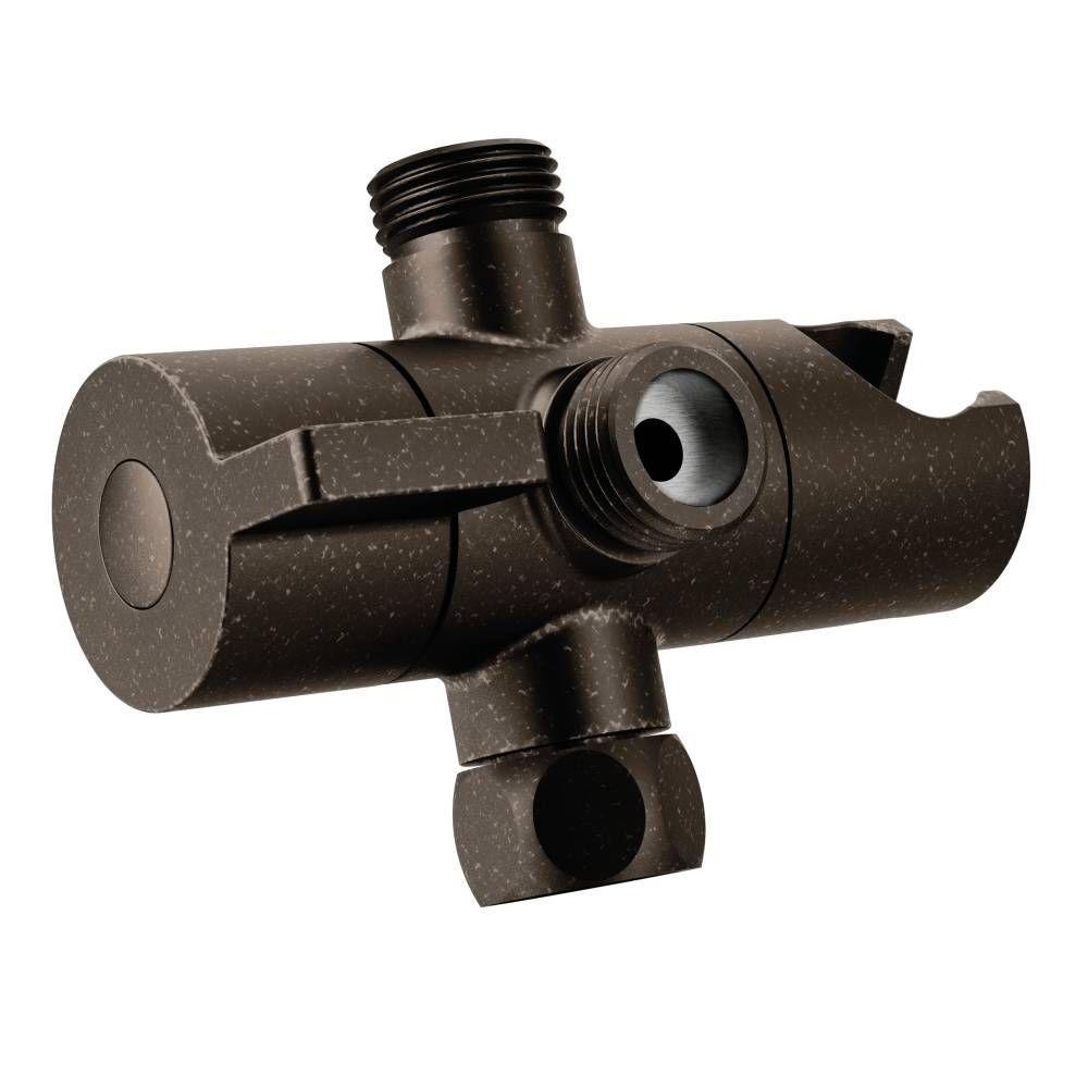 MOEN Shower Arm Diverter, Oil Rubbed Bronze-CL707ORB - The Home Depot