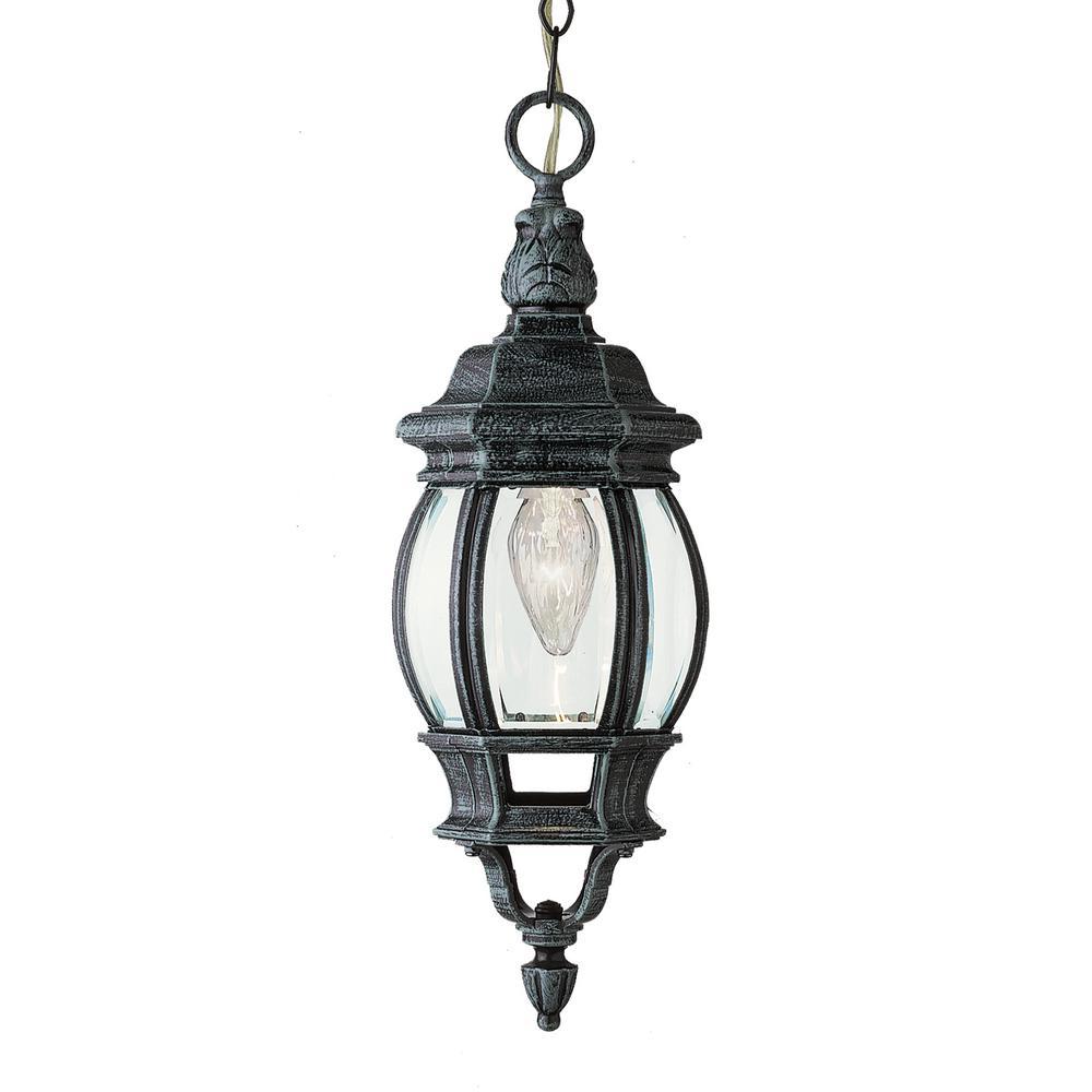 Parsons Swedish Iron 1-Light Outdoor Hanging Lantern
