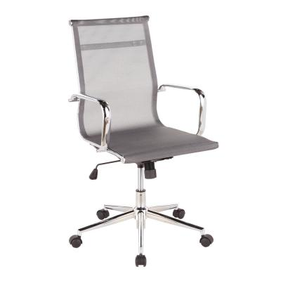 Mirage Adjustable Silver Office Chair with Swivel