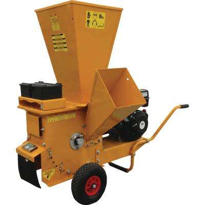 3 in. 270 cc Gas Powered Commercial-Duty Chipper