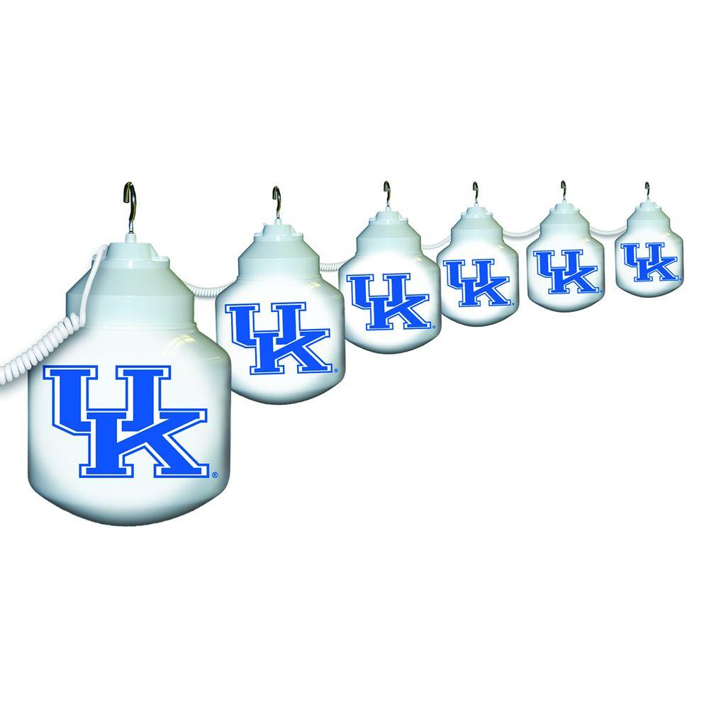 Polymer Products 6-Light Outdoor University of Kentucky String Light Set