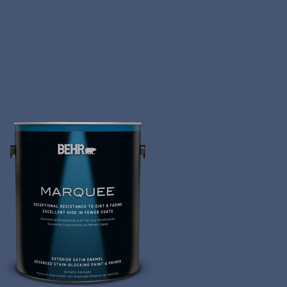 Home Decorators Collection #HDC-WR14-7 Hidden Sapphire Exterior Paint