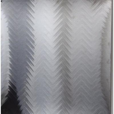 30 in. W x 30 in. H Stainless Steel Illusion Backsplash