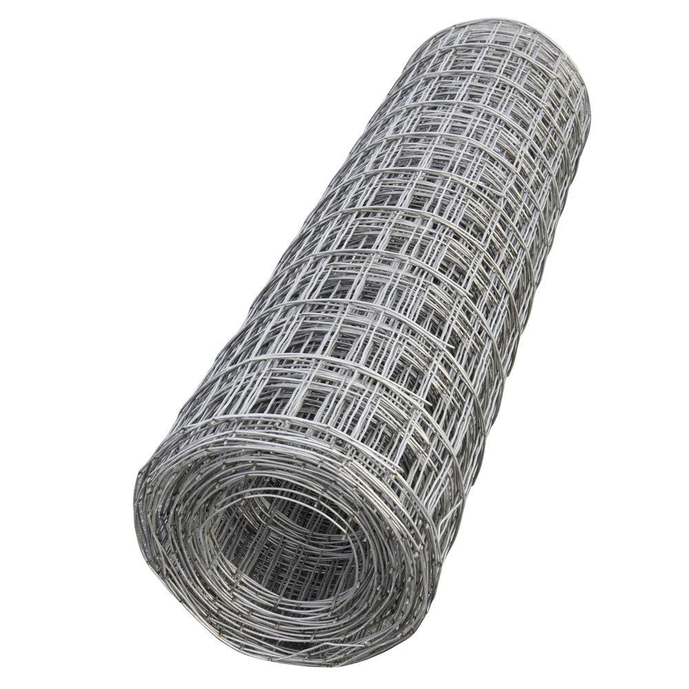 5 Ft X 150 Steel Mesh Roll 05042 The Home Depot Metal Buildings Wired