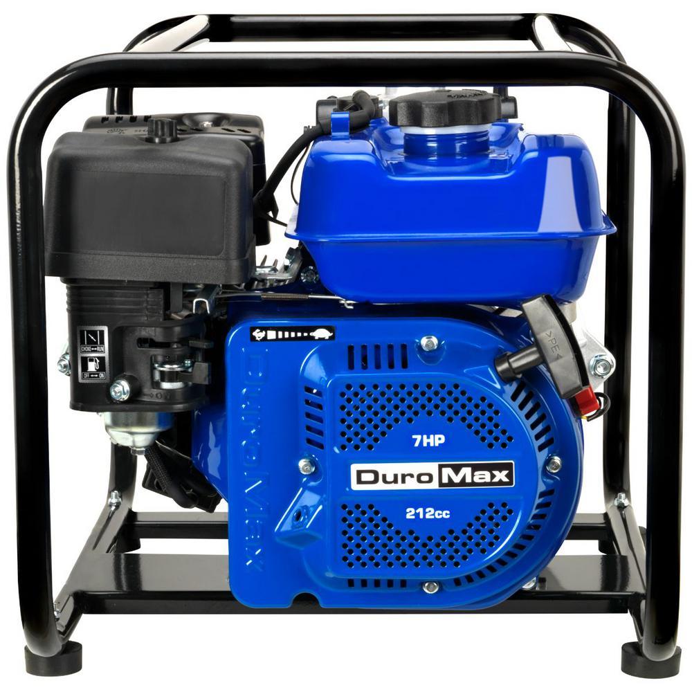 212 CC 7 HP 2 in. 70 GPM Gas Powered High Pressure Water Pump