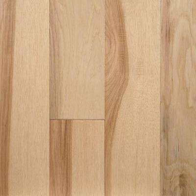 Natural Hickory 0.28 in. Thick x 5 in. W x Varying Length Waterproof Engineered Hardwood Flooring (16.68 sq. ft./case)