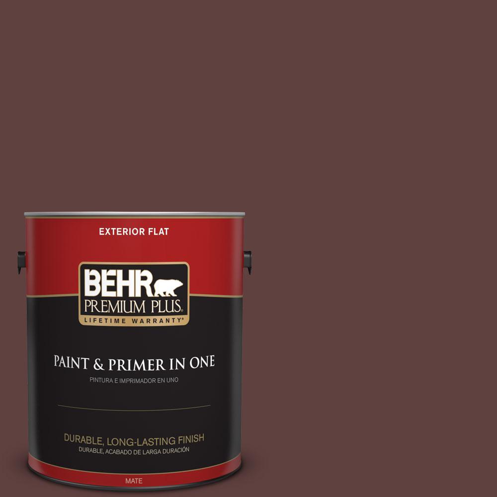 BEHR Premium Plus 1-gal. #BXC-21 Chicory Root Flat Exterior Paint