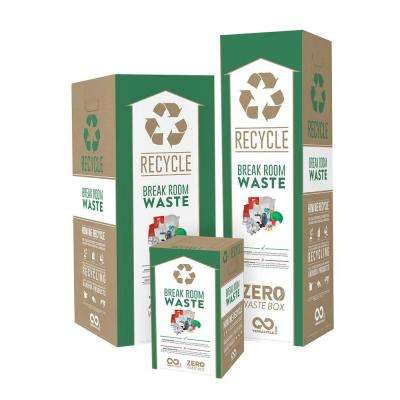 6 Gal. Baseboard and Molding Recycling Containers Mail Back Zero Waste Boxes