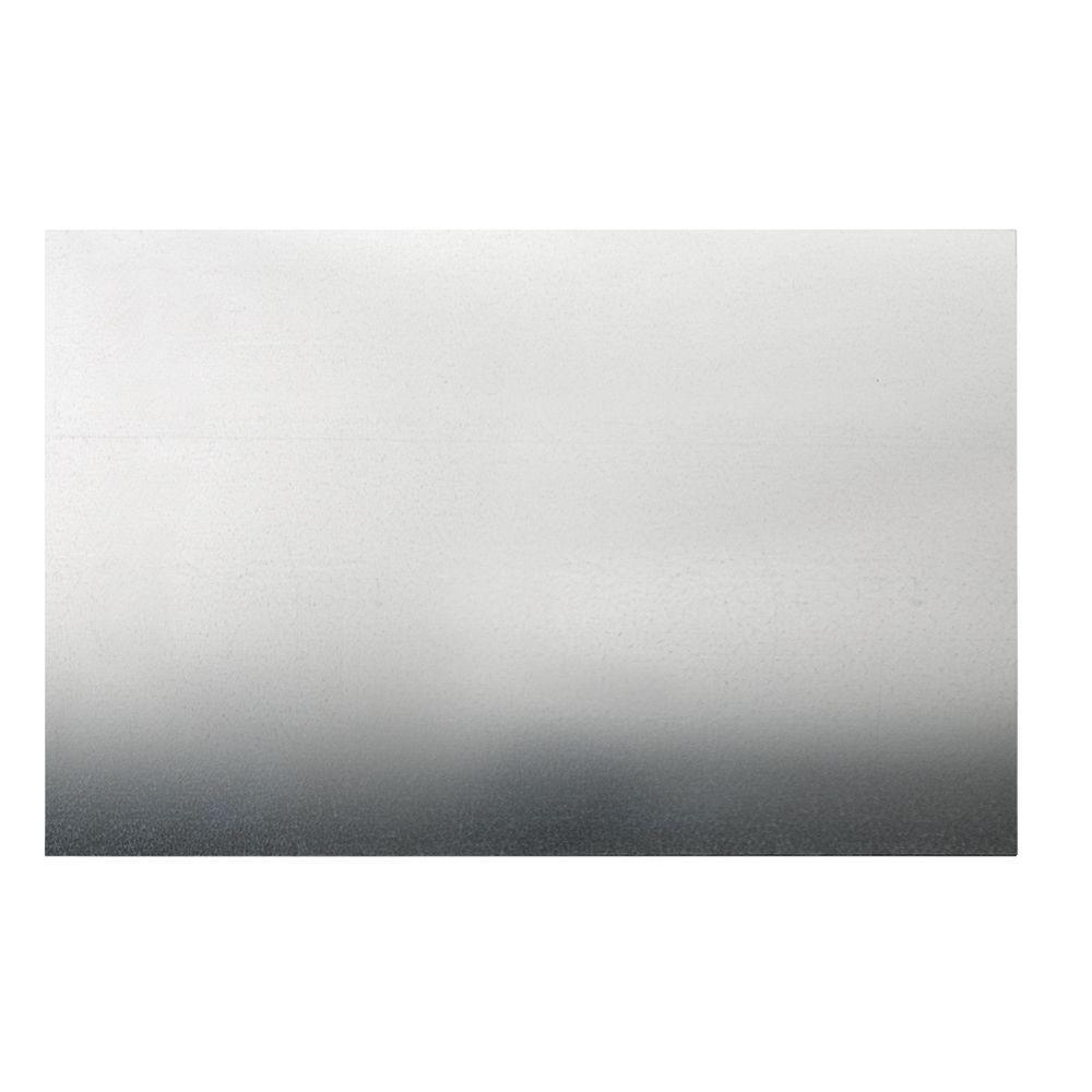 30 in. x 24 in. 26-Gauge Zinc-Plated Sheet Metal