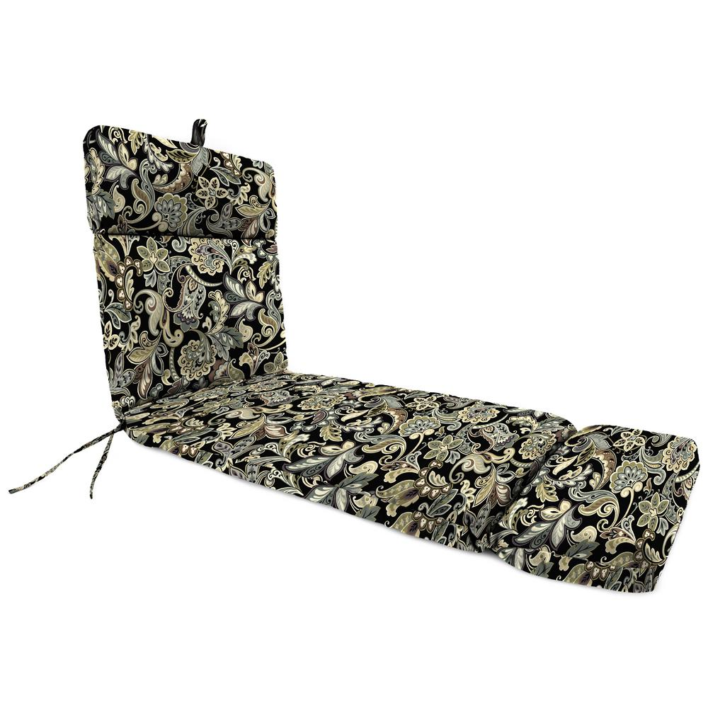 saddle stripe outdoor chaise lounge cushion th