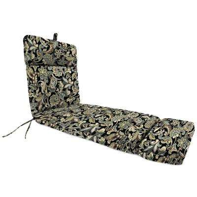Cornwall Jet Replacement Outdoor Chaise Lounge Cushion