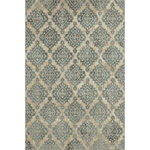 Dynamic Rugs Melody Ivory/Blue 2 ft. x 3 ft. 7 inch Indoor Accent Rug by Dynamic Rugs