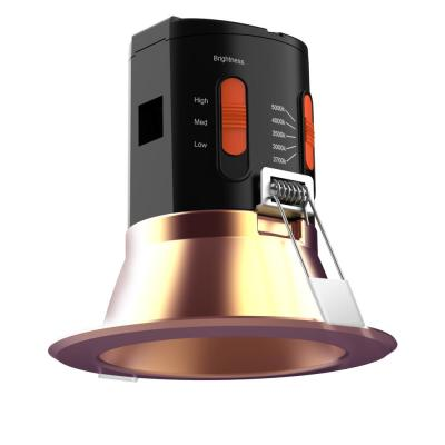 Premium Downlight 4in. Copper Integrated LED Recessed Kit