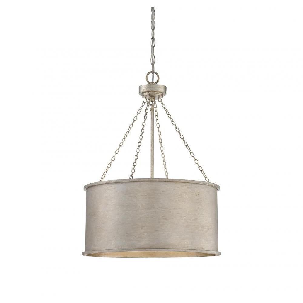 Meko 4-Light Silver Pendant