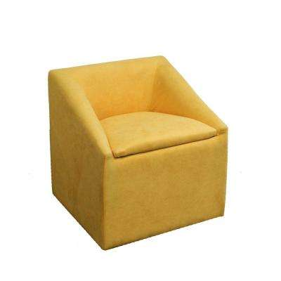 Yellow Polyurethane Arm Chair