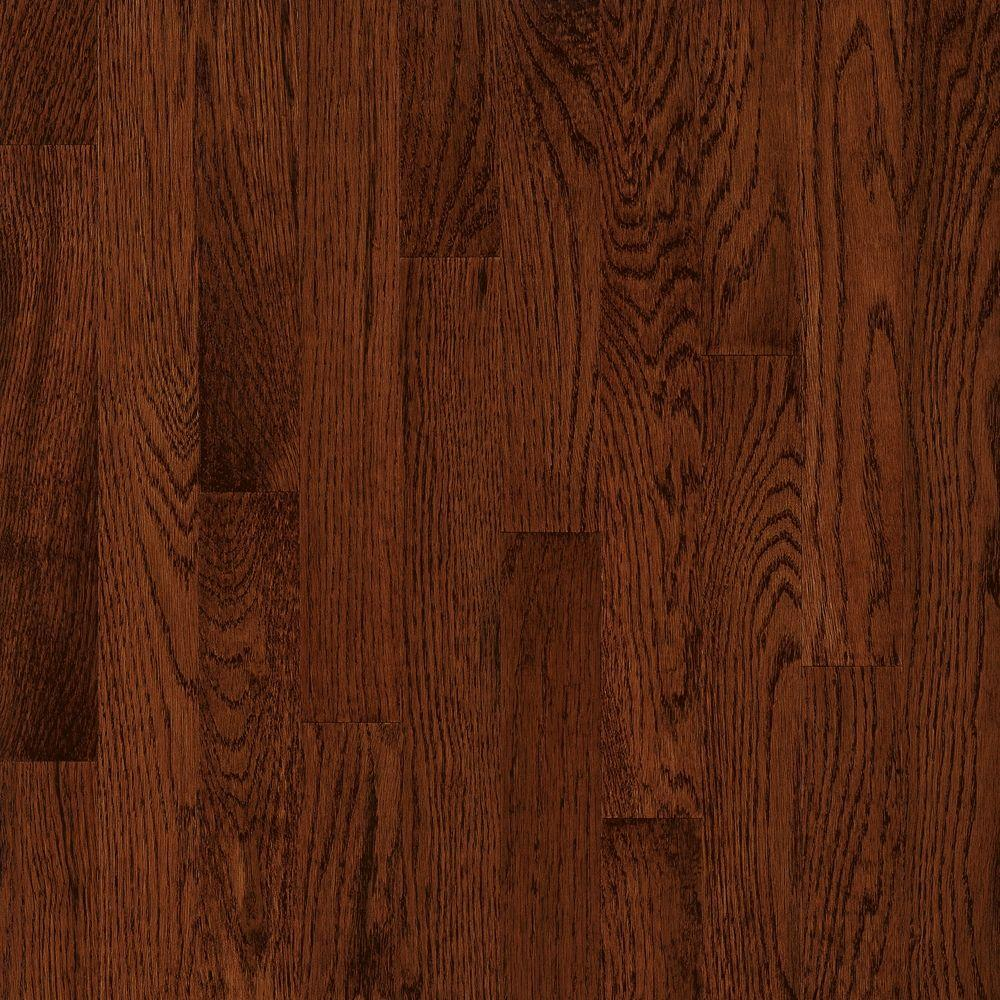 Bruce American Originals Deep Russet Oak 5/16 in. T x 2-1/4 in. W x Varying L Solid Hardwood Flooring (40 sq. ft. /case)