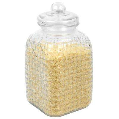 Panama Collection 153.6 oz. Glass Canister
