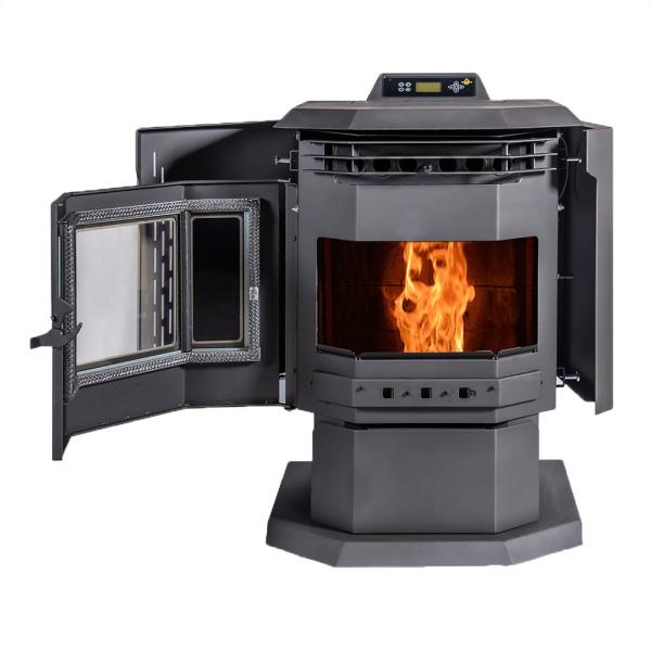Comfortbilt Hp21 Pellet Stove 2 400 Sq Ft Epa Certified With Auto Ignition Hp21 The Home Depot