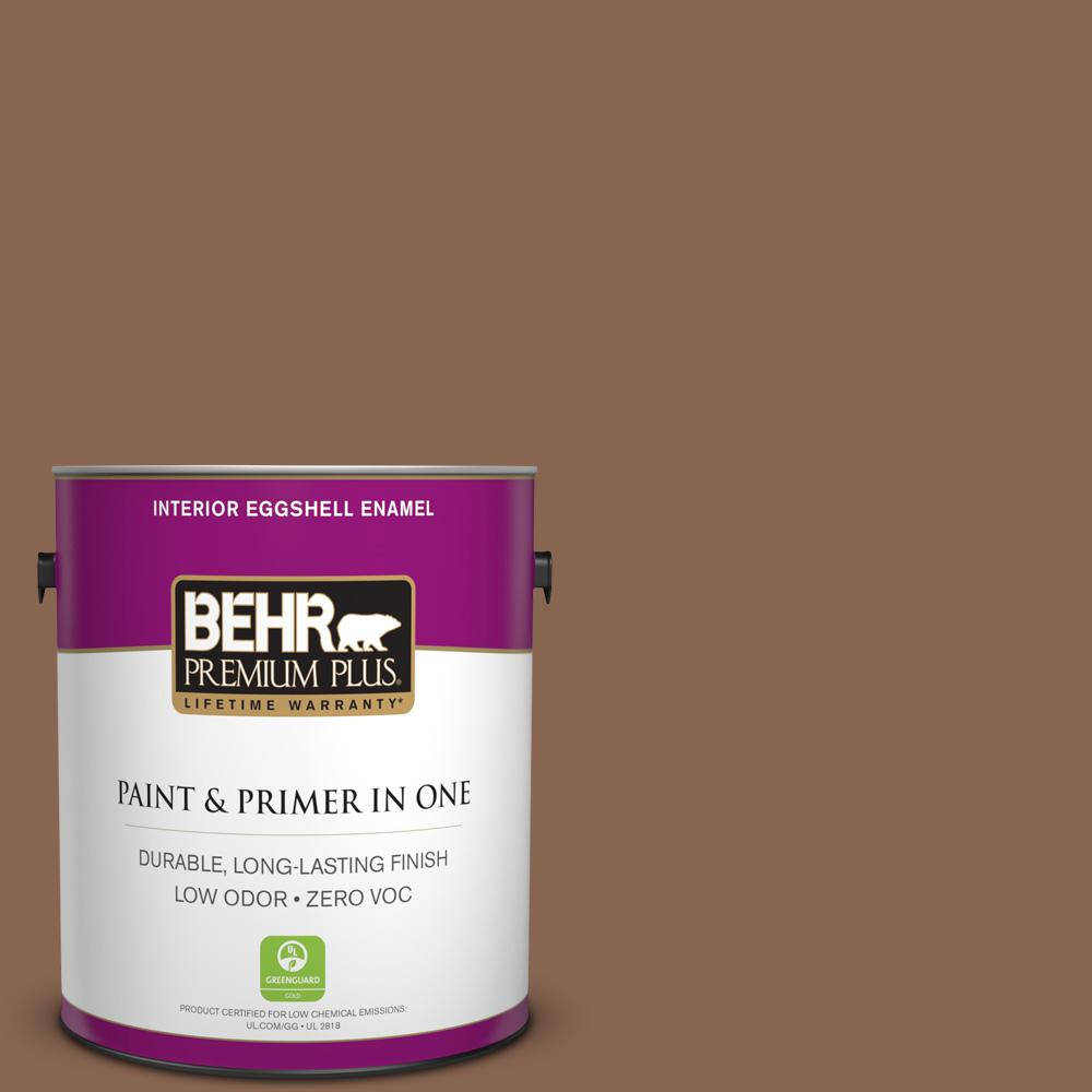 1 gal. #PPU3-17 Clay Pot Zero VOC Eggshell Enamel Interior Paint