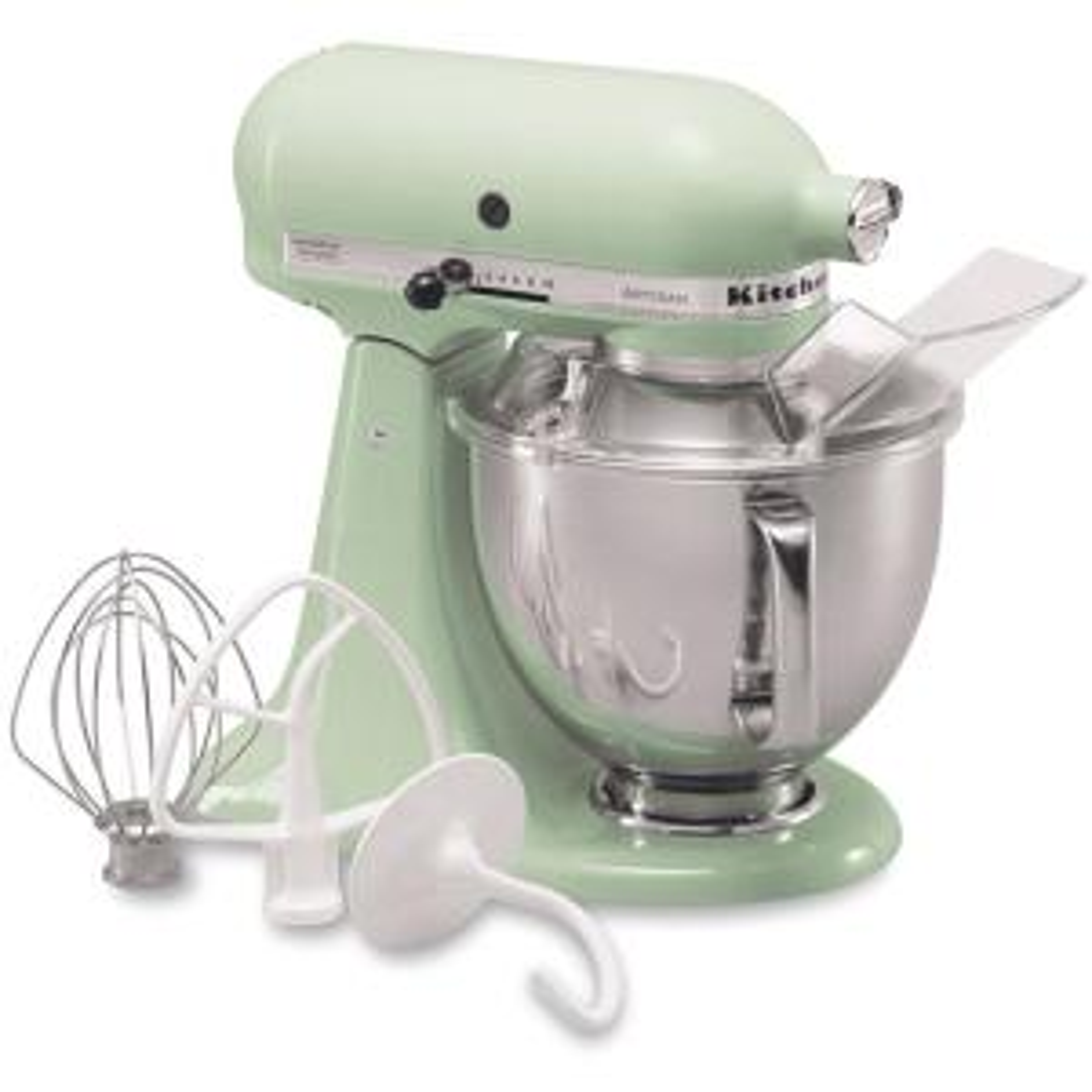 Good Internet #100497597. KitchenAid Artisan 5 Qt. Pistachio Green Stand Mixer