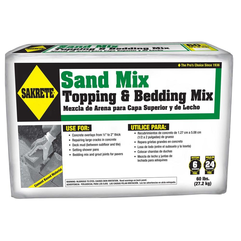 sakrete 60 lb sand mix 65306217 the home depot