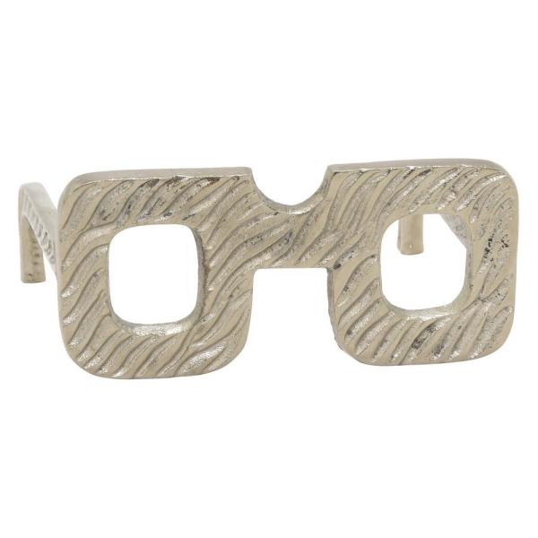 9567cce2ca46d7 THREE HANDS 3 in. Metal Eye Glass Square Frame in Silver 49296 - The ...