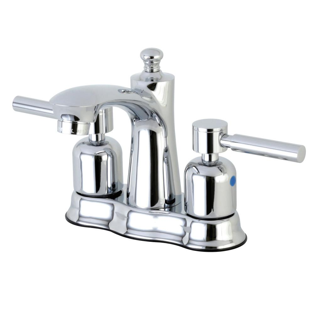 Concord 4 in. Centerset 2-Handle Bathroom Faucet in Polished Chrome