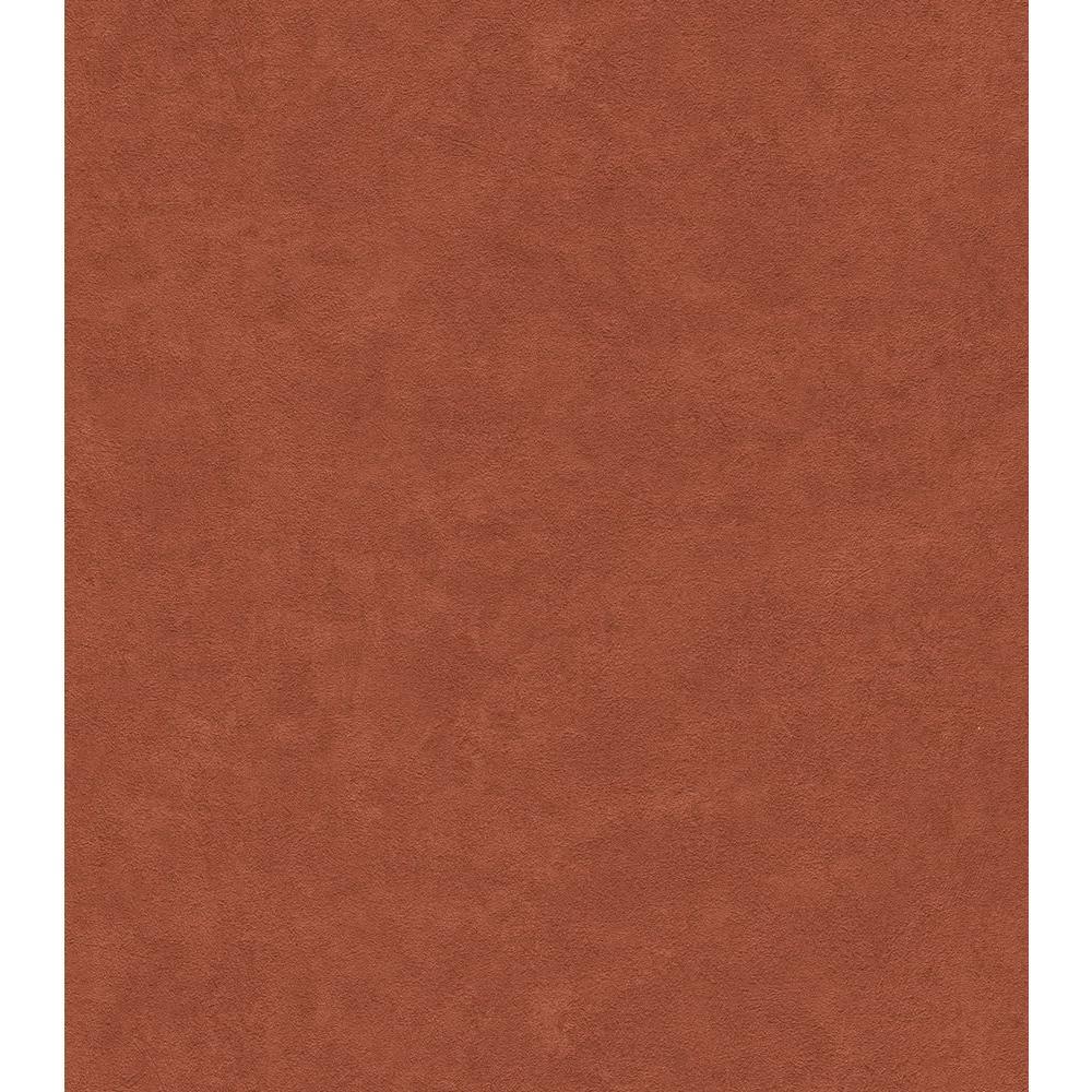 Brick Red Textured Wallpaper