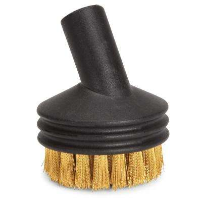 Large Brass Wire Brush SteamMachine (5-Pack)