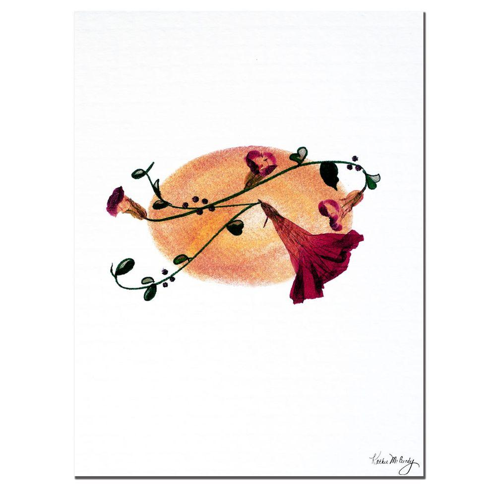 Trademark Fine Art 18 in. x 24 in. Harvest Moon Canvas Art
