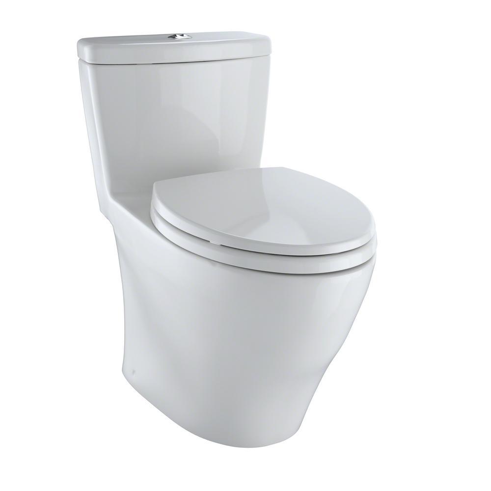 toto aquia 1 piece elongated 0 9 1 6 gpf dual flush. Black Bedroom Furniture Sets. Home Design Ideas