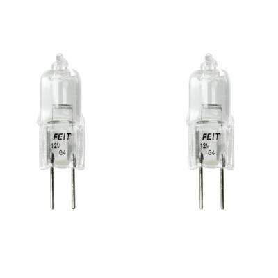 20-Watt Bright White (2800K) T3 G4 Bi-Pin Base Dimmable Landscape Garden Halogen Light Bulb (2-Pack)