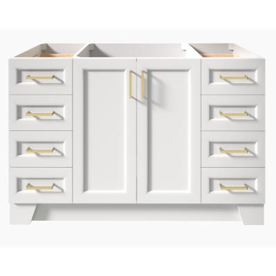 Taylor 54 in. W Vanity Cabinet Only in White