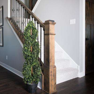 4 ft. Boxwood Double Spiral (UV)