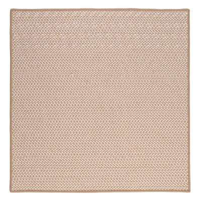 Sadie Sand 12 ft. x 12 ft. Indoor/Outdoor Braided Area Rug