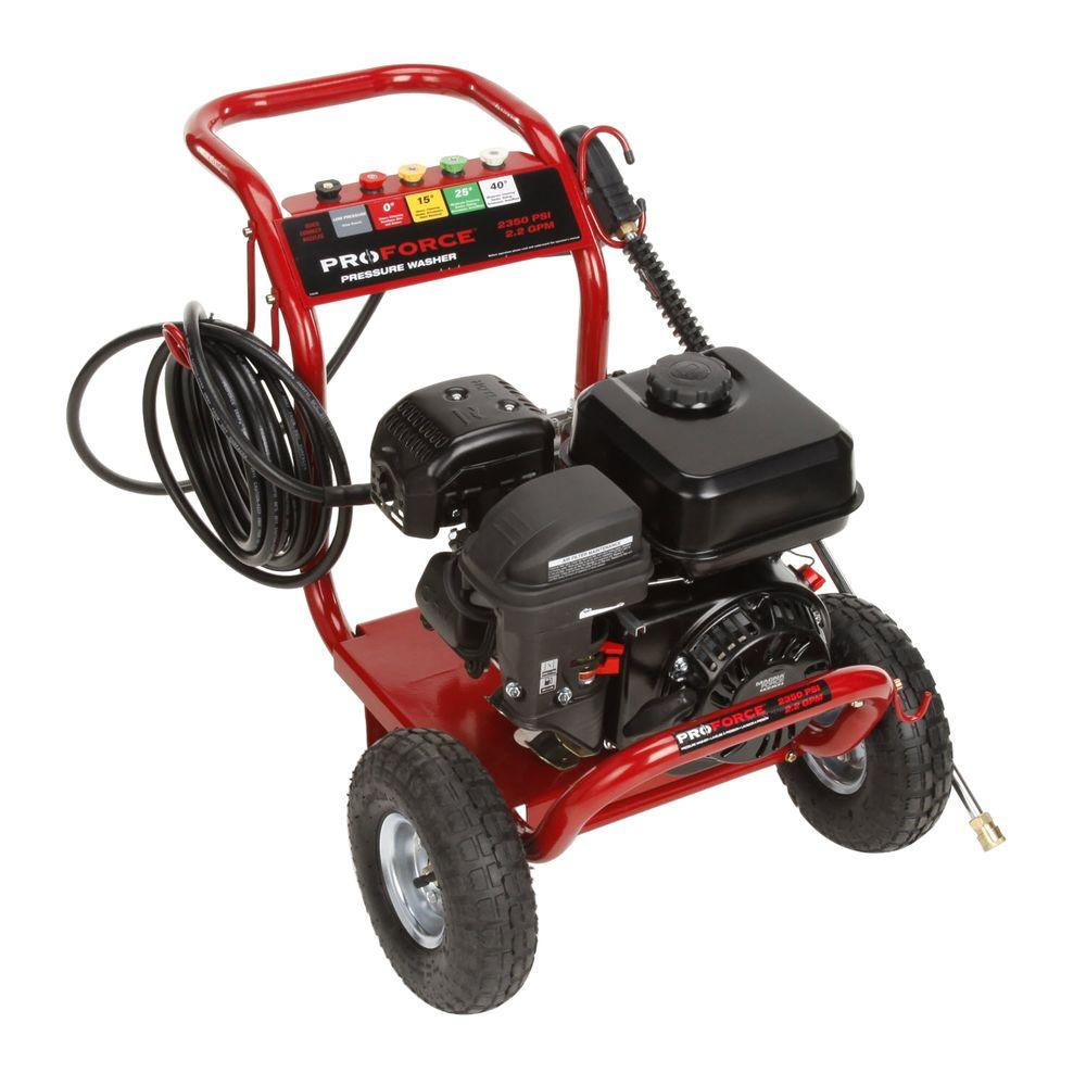 ProForce 2350-PSI 2.3-GPM Gas Pressure Washer-DISCONTINUED