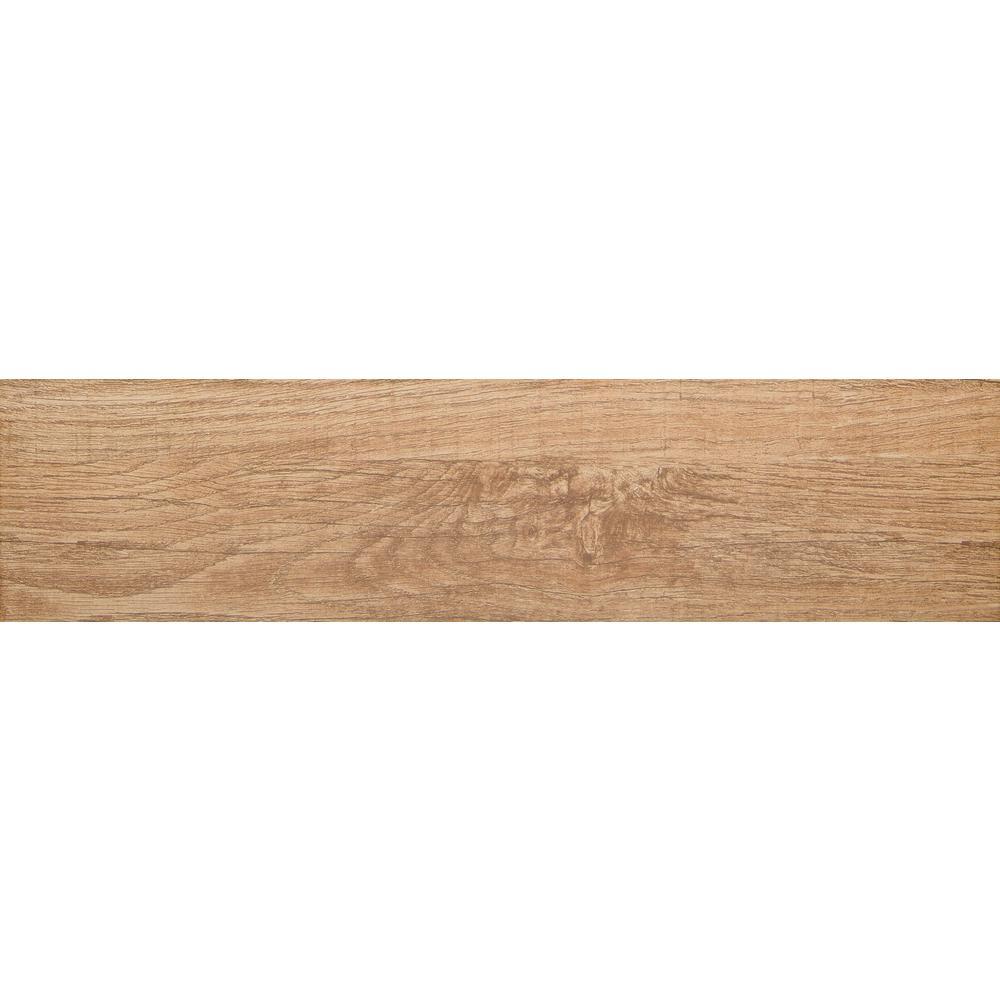 Emser Woodwork Bend Matte 5 83 In X 23 Porcelain Floor And Wall Tile