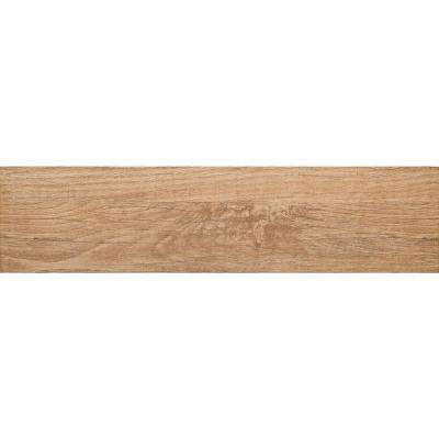 Woodwork Bend Matte 5.83 in. x 23.5 in. Porcelain Floor and Wall Tile (9.5 sq. ft. / case)