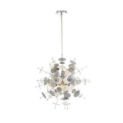 Bonazzi 6-Light Chrome Chandelier