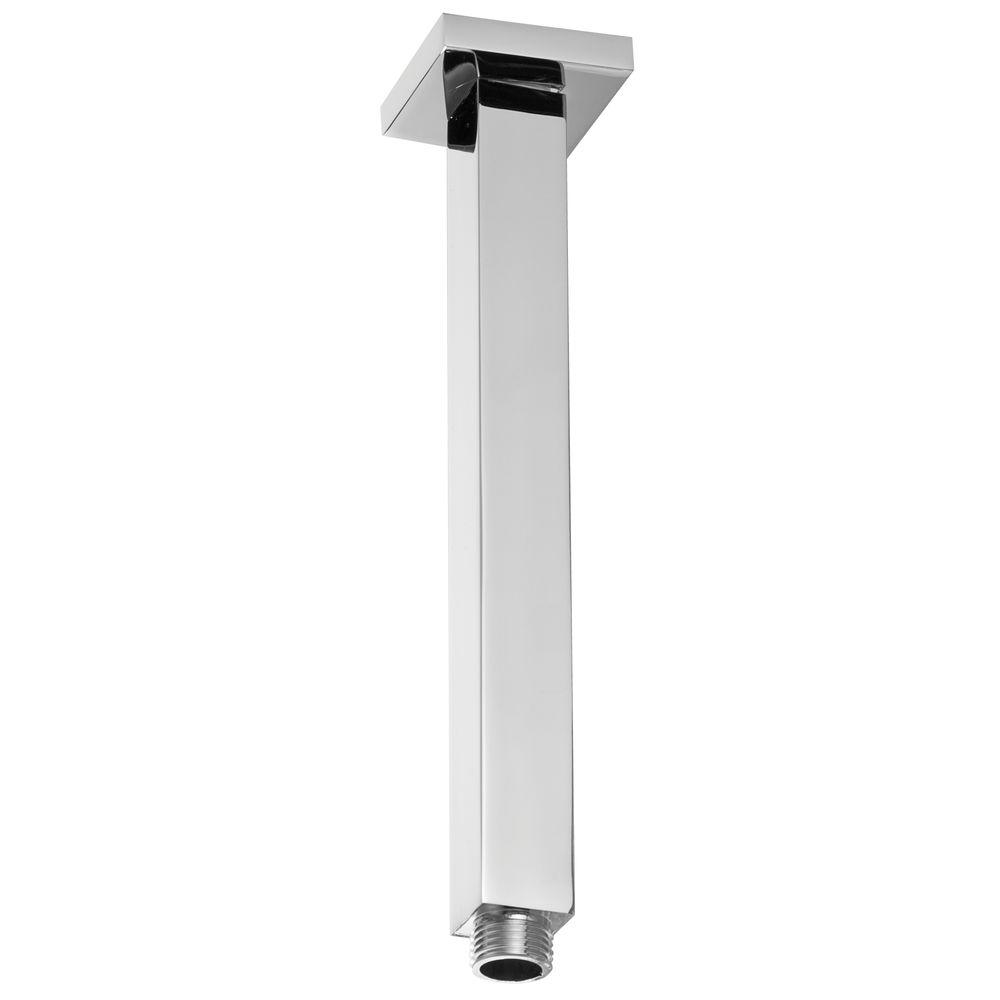 westbrass 1  2 in  ips true square ceiling style shower arm
