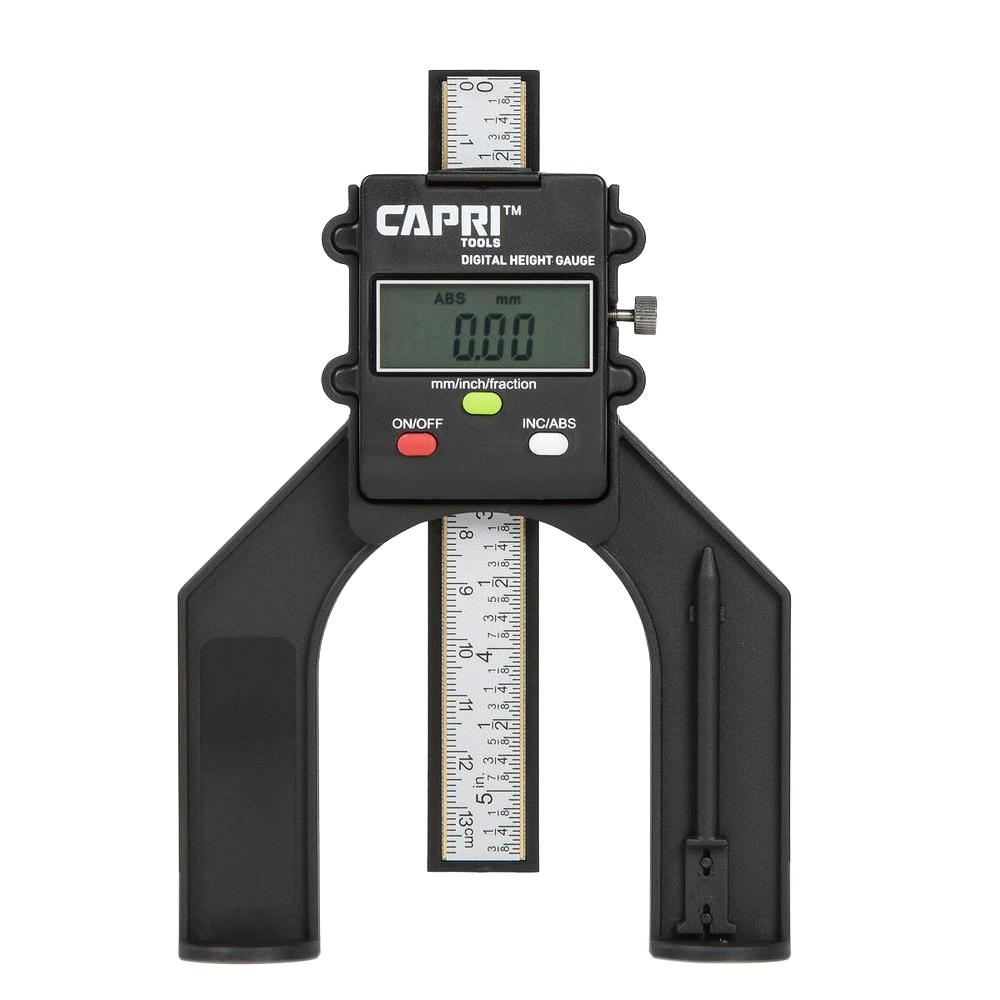 Capri Tools 3.2 in. Mini Digital Height Gauge