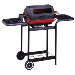 easy street deluxe electric cart grill in black. Black Bedroom Furniture Sets. Home Design Ideas