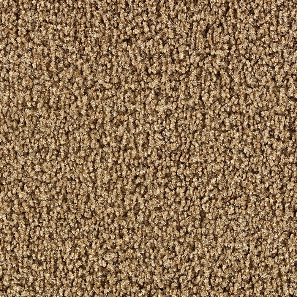 Martha Stewart Living Beechwood Nutmeg - 6 in. x 9 in. Take Home Carpet Sample-DISCONTINUED