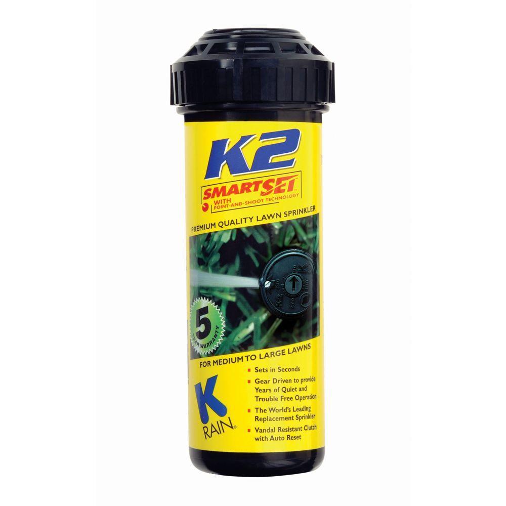 K-Rain 5 in  K2 Smartset Reclaim Water Gear Drive Sprinkler