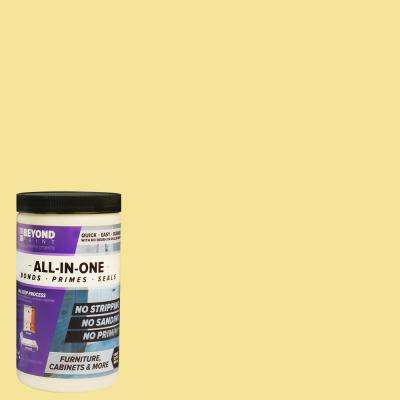 1 qt. Buttercream Furniture, Cabinets and More Multi-Surface All-in-One Interior/Exterior Flat Refinishing Paint