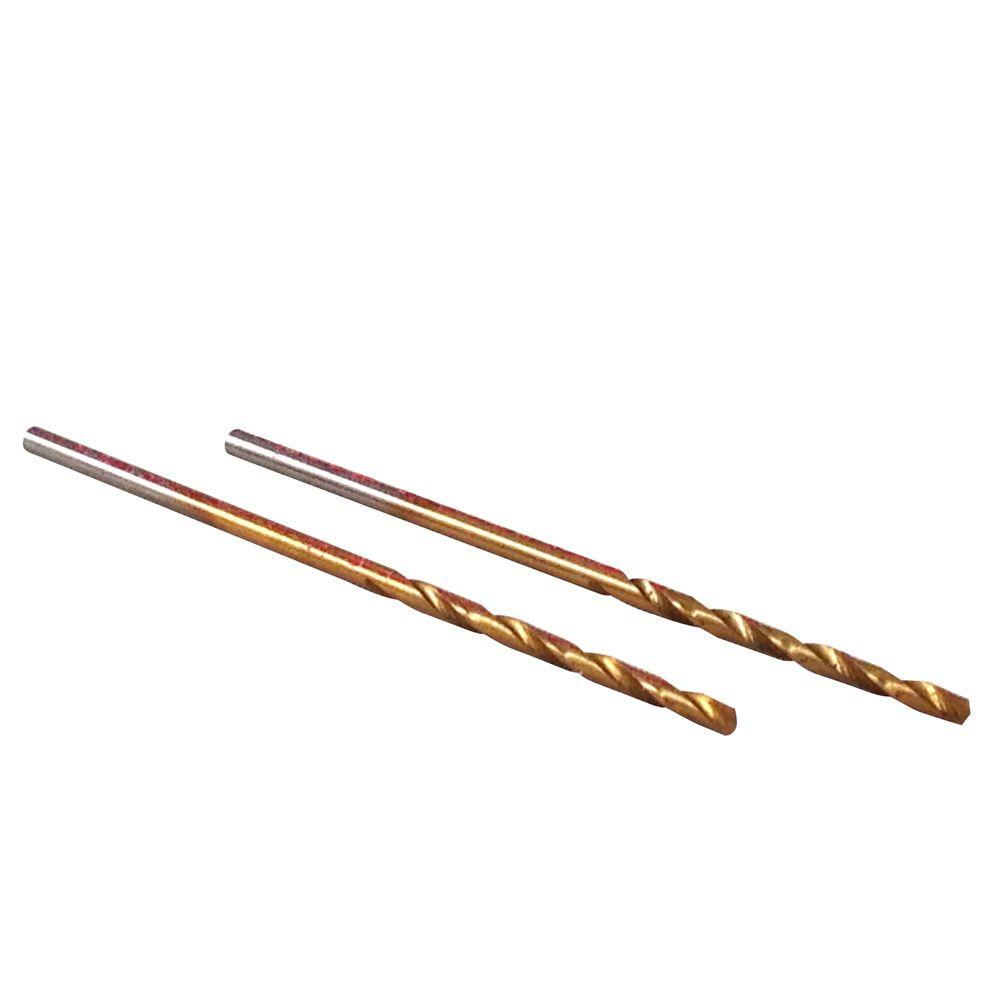 BLU-MOL 1/16 in. Diameter Titanium Jobber Drill Bit (2-Pack)