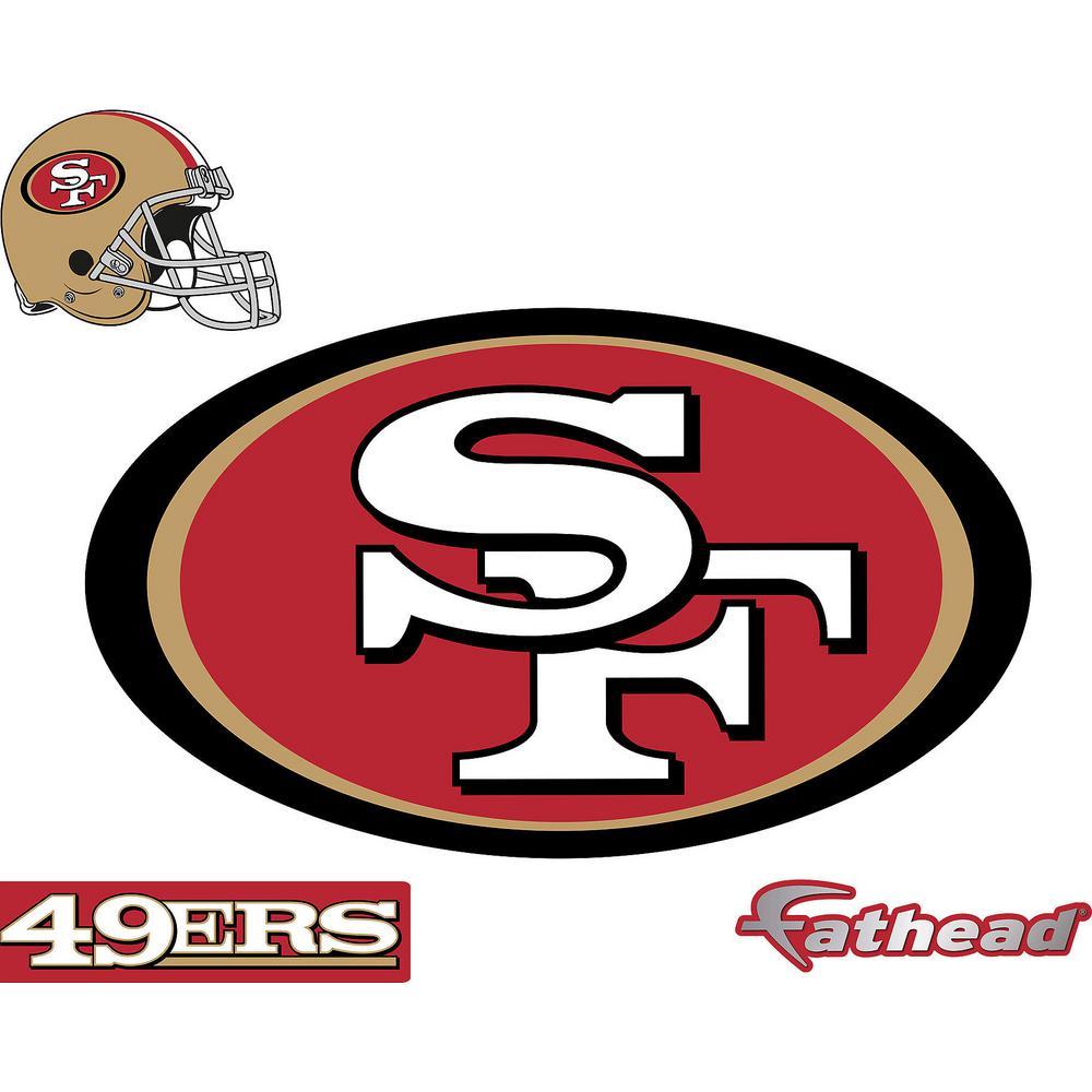 San Francisco Giants 49ers Fan Vinyl Sticker Decal