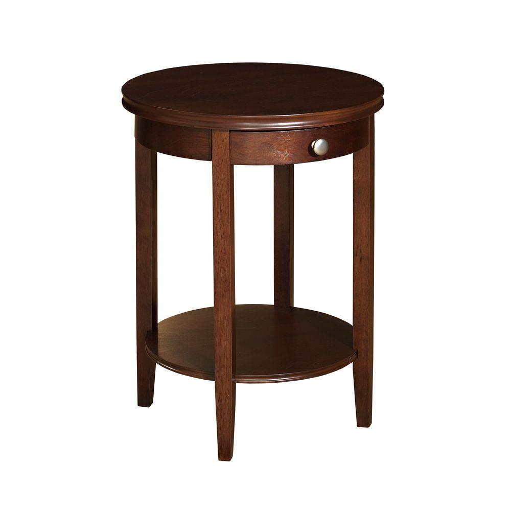 Powell Shelburne Cherry End Table