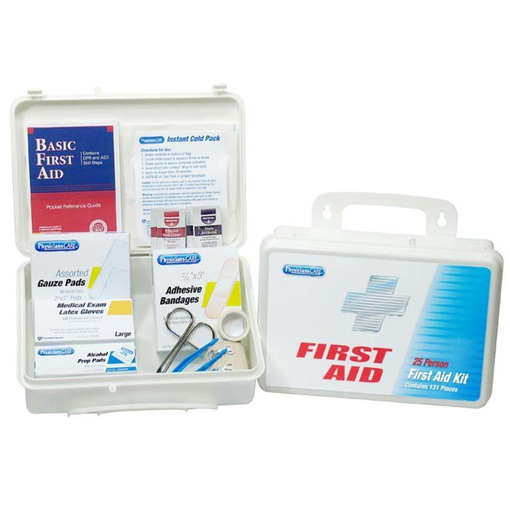 PhysiciansCare Home\Office First Aid Kit - 25 Person (131-Piece)